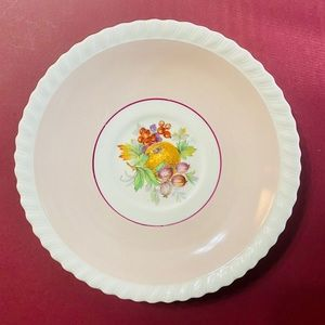 Vintage Dining - Two Vintage Shallow Bowls